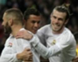 zidane wants to keep bale, benzema and cristiano ronaldo as real work on mbappe deal