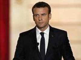 russia used facebook 'to try to spy on macron campaign'