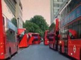 Jeremy Vine complains about too many London buses on roads