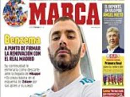 karim benzema 'to sign new five-year-deal' at real madrid