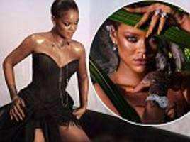 rihanna is dripping in diamonds in new chopard campaign