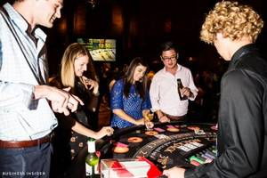 We went to a glamorous poker event where billionaires, athletes, and poker pros face off