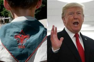 boy scouts chief apologizes for trump speech: 'we sincerely regret that politics were inserted'