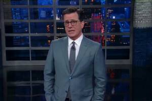 Stephen Colbert on Trump's Transgender Ban: 'Today He Went From Crazy to Cruel' (Video)