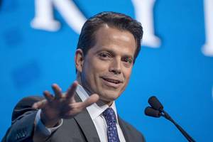 'there was no leak!': reporter slams anthony scaramucci tweet, says info was public (audio)