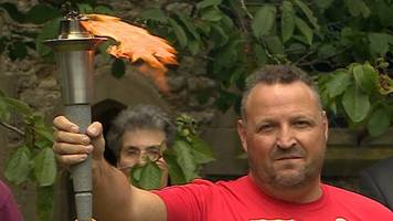 Special Olympics torch relay begins in Much Wenlock