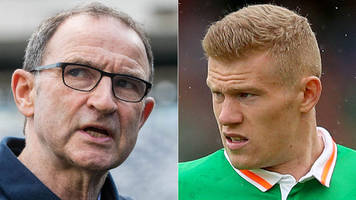 martin o'neill and james mcclean reprimanded by fifa