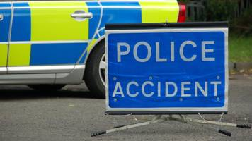 Man dies after car and lorry crash on A74(M)