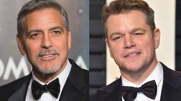 george clooney and matt damon headed for venice film festival