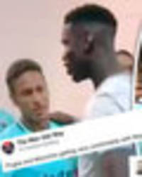Man Utd fans convinced Neymar is joining after Paul Pogba and Jose Mourinho talk to player