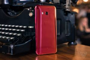 The red U11 is HTC's phoenix phone