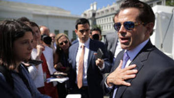 'fish stinks from head down': scaramucci accuses priebus of being leaker