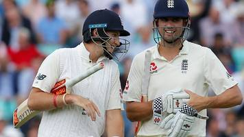 Cook defies South Africa on rain-shortened day