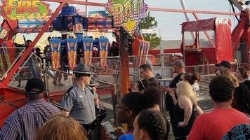 at least 1 dead after ohio state fair ride breaks apart midair