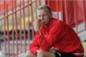 Exeter City's Dean Moxey hopeful of playing against Cambridge...