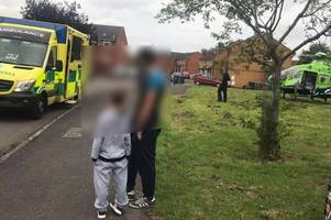 video emerges from scene of serious crash in trowbridge which left 9-year-old boy with serious injuries