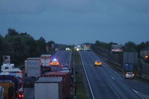 man arrested after police incident closed a14