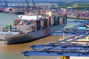 why the world's biggest container ship has sparked a golden glint in the eyes of cambridge dons