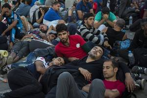 united nations warns of mounting refugee tension on greek islands