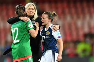 scotland 1 spain 0 as valiant win not enough as anna signeul's women crash out of euro 2017