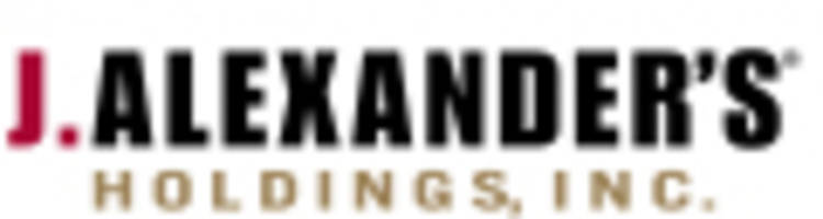 j. alexander's holdings, inc. to release financial results for the second quarter on thursday, august 10, 2017
