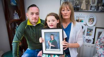young belfast mum kellie mcconville loses cancer battle - family pleads for early testing