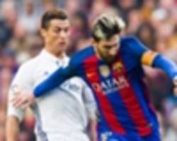 real madrid versus barcelona - el clasico in the usa