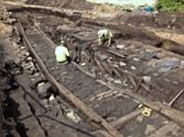 Railway from 200 years ago is unveiled in Newcastle