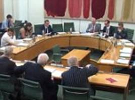 up to 90% of witnesses before commons committees are men