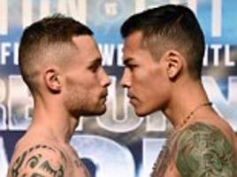 carl frampton misses weight ahead of andres gutierrez bout