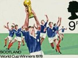 Stamps made for Scotland World Cup win to be displayed