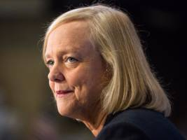 hpe ceo meg whitman just publicly took herself out of the running to be uber's new boss (hpe)
