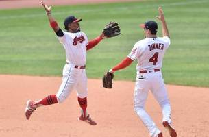 tribe on fire! indians hit the road aiming to extend season-high win streak
