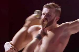 'america's got talent': watch this dude scarily spin lady-skater by his beard (video)
