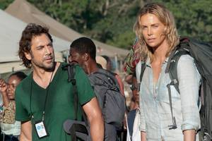 'the last face' review: charlize theron squandered in sean penn's offensive message movie