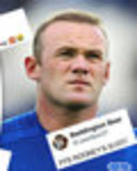 Wayne Rooney destroyed for this terrible shot on competitive Everton debut