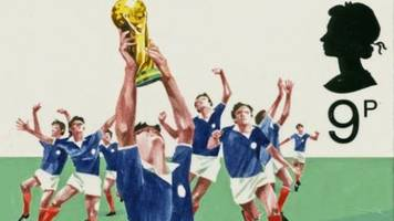 The stamps designed for Scotland's World Cup win that never happened