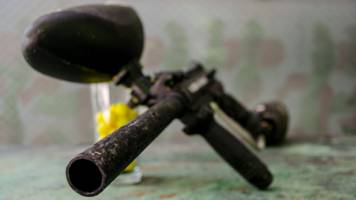 man held over drive-by paintball shootings