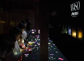 shiseido supports teamlab: a forest where gods live art exhibition presented by shiseido