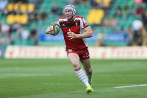 The young Gloucester Rugby brothers enjoying a wonderful summer