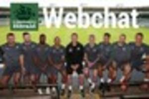 plymouth argyle webchat: we are live with your questions