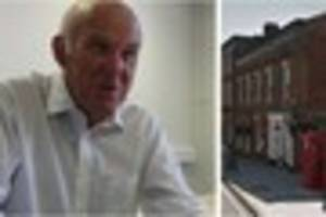 vince cable visits exeter and talks brexit, 'questionable' pool...