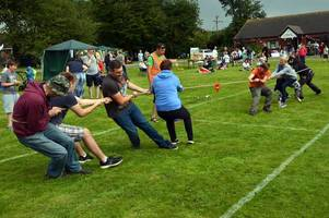 village set for annual family fun day