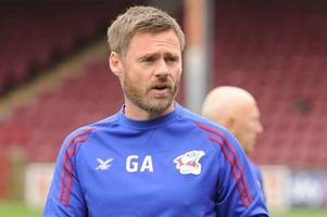 i know seven or eight of my starting line up says scunthorpe united manager graham alexander