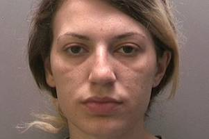 burglar attacked police officer as they tried to arrest her for crime-spree