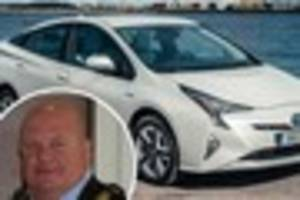 the dover mayor's car is 'too small' so taxpayers will have to...