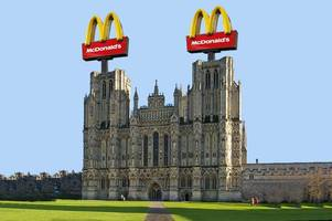 mcdonald's in wells? we ran a poll and 100% of voters say they want one in the city