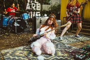 glow star kate nash reckons scottish fans would love wrestling at her gigs as she benches acting to hit the road