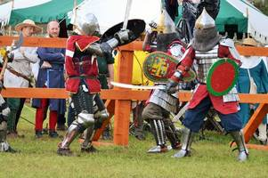 knights to do battle at scone palace