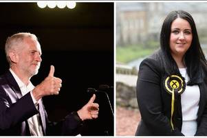 snp mp angela crawley cheekily welcomes labour leader jeremy corbyn's plans to visit her constituency